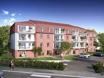 BUREAU NEUF A VENDRE - MARQUETTE LEZ LILLE - 262 m2 - 526820 €