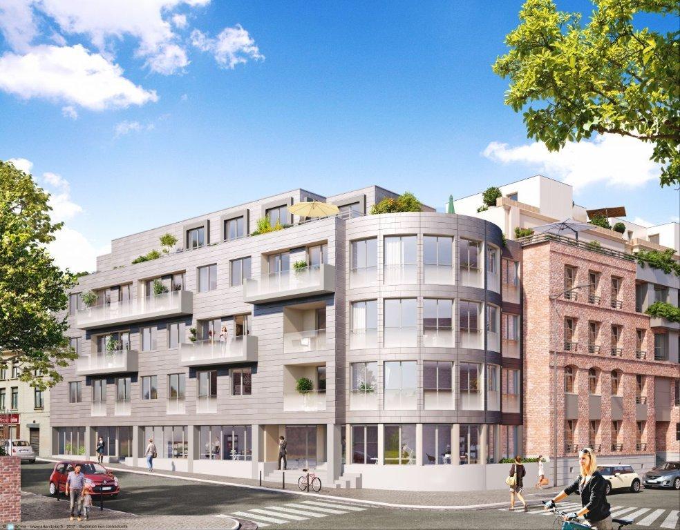 BUREAU A VENDRE - LILLE - 245 m2 - 742�0 €