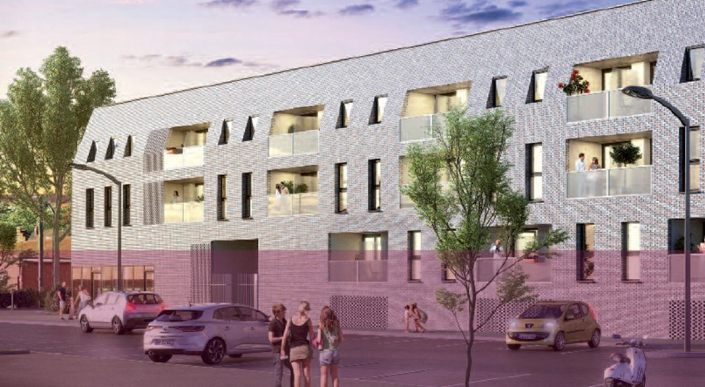BUREAU NEUF A VENDRE - LOMME EURATECHNOLOGIE - 132 m2 - 310�0 €