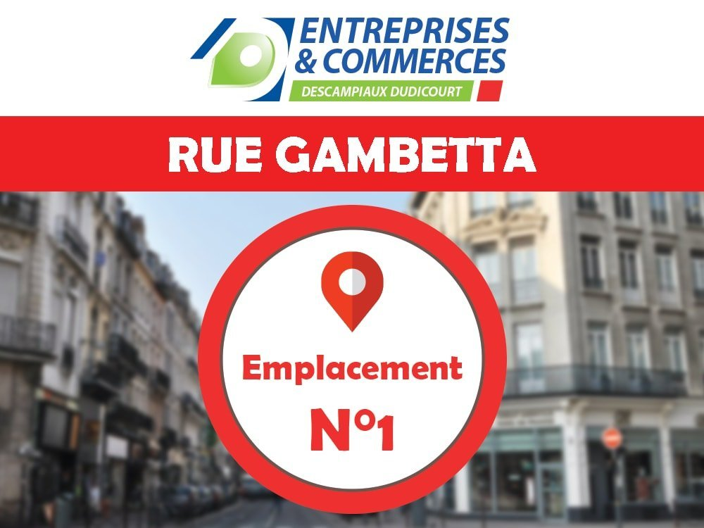IMMEUBLE A USAGE COMMERCIAL A VENDRE - LILLE GAMBETTA - 88 m2 - 265�0 €