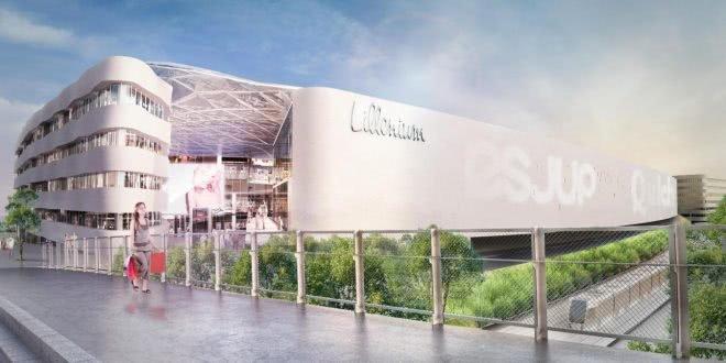Lillenium, un nouveau centre commercial à Lille à partir de 2019