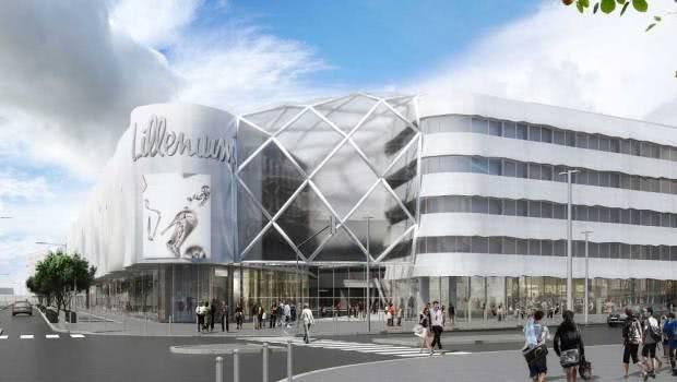 Le centre commercial Lillenium se concrétise