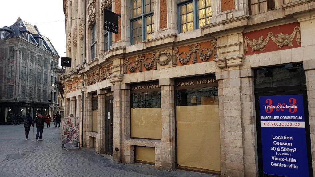 Ouverture en janvier d'un immense Zara rue de la Bourse